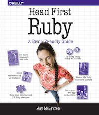 Head First Ruby Cover